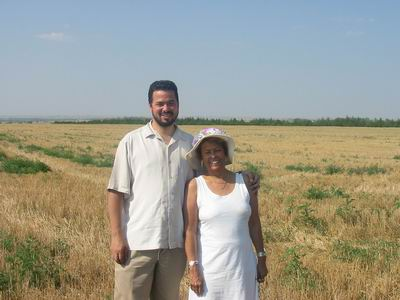 David & Phyllis Brown on Truehart Farm